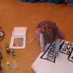 Kreatives Gestalten im Nachmittagsangebot im Schutzengelkindergarten